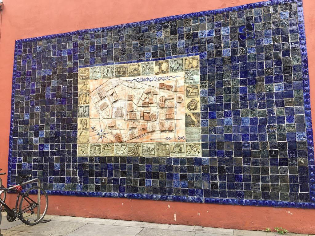 Belfast Wall mosaic