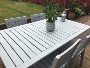 Garden Furniture Revamp Finished