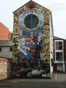 Street Art in Belfast Northen Ireland