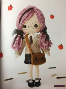 My felt Doll book