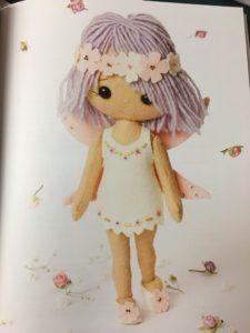 Felt Doll stuffed toy