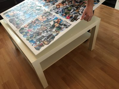 photo collage | coffee table