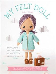 My Felt Felt Doll by Shelly Down - book