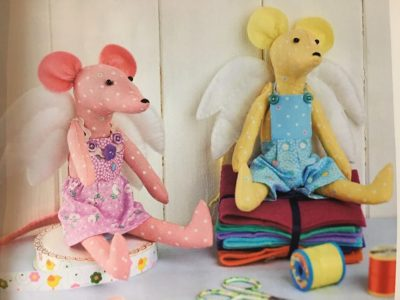 angel mice easy sewing