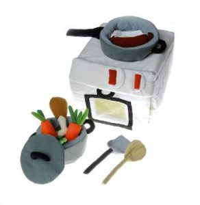 Soft toys - Cooker and pan set