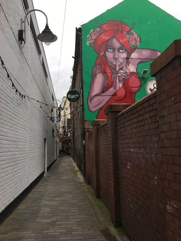 Street Art Belfast by Lia Spragg