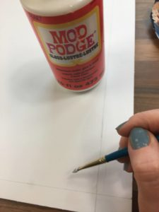 using mod podge