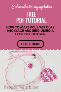 Free PDF Polymer Clay Tutorial