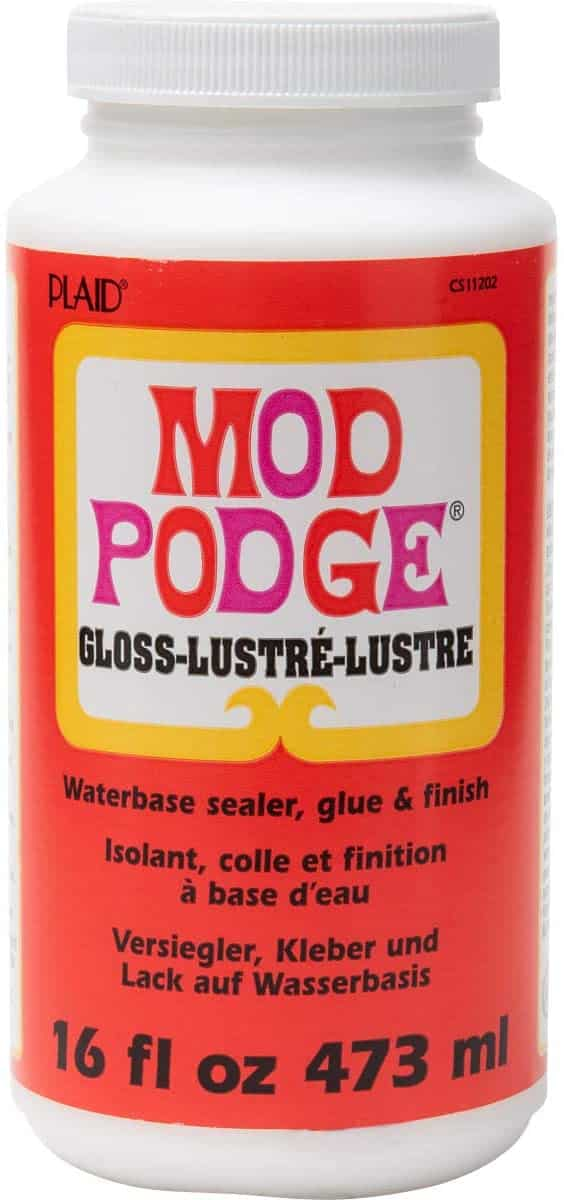 Does Mod Podge Dry Clear