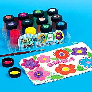 fabric paint for kids easter craft ideas