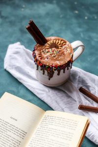 hot chocolate for easter