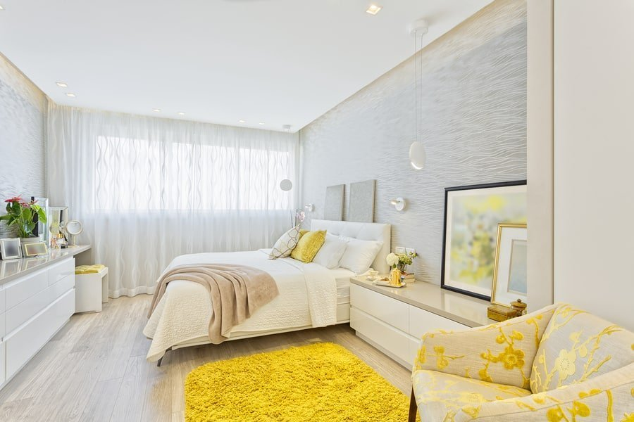 Feng shui bed yellow