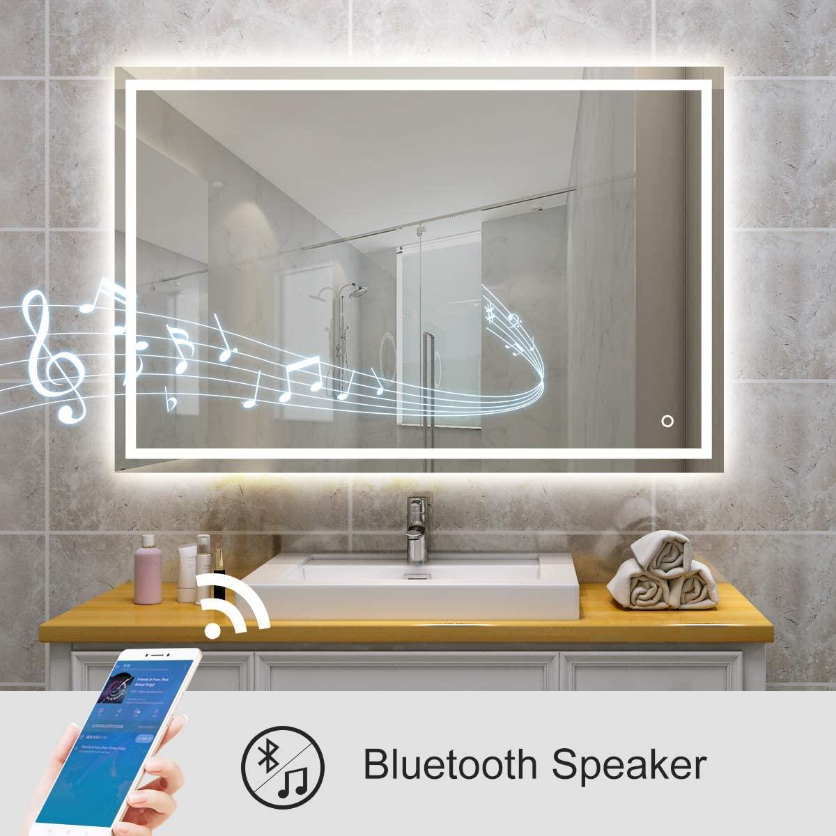 Bluetooth bathroom Mirror