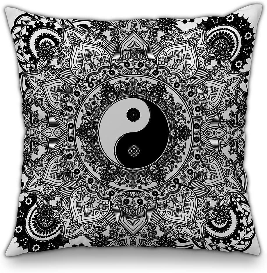 yin and yang cushion