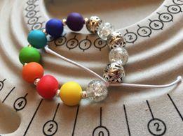 Polymer Clay Chakra Bracelet
