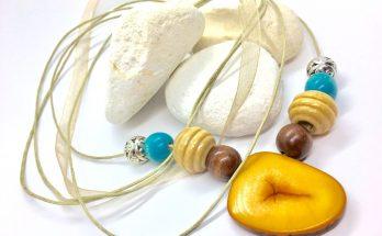 Tagua nut necklace