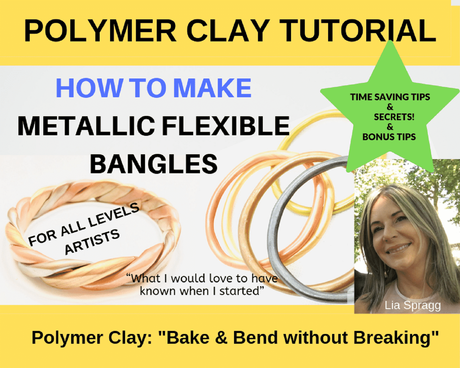 how to bake and not break polymer clay