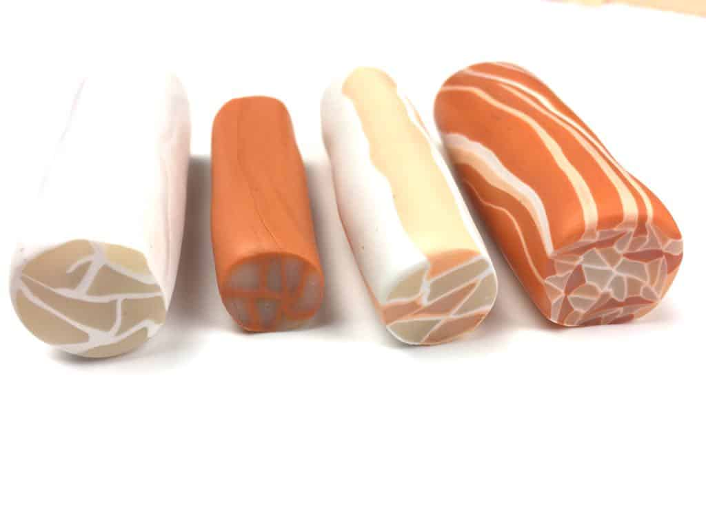 How to make Polymer clay canes
