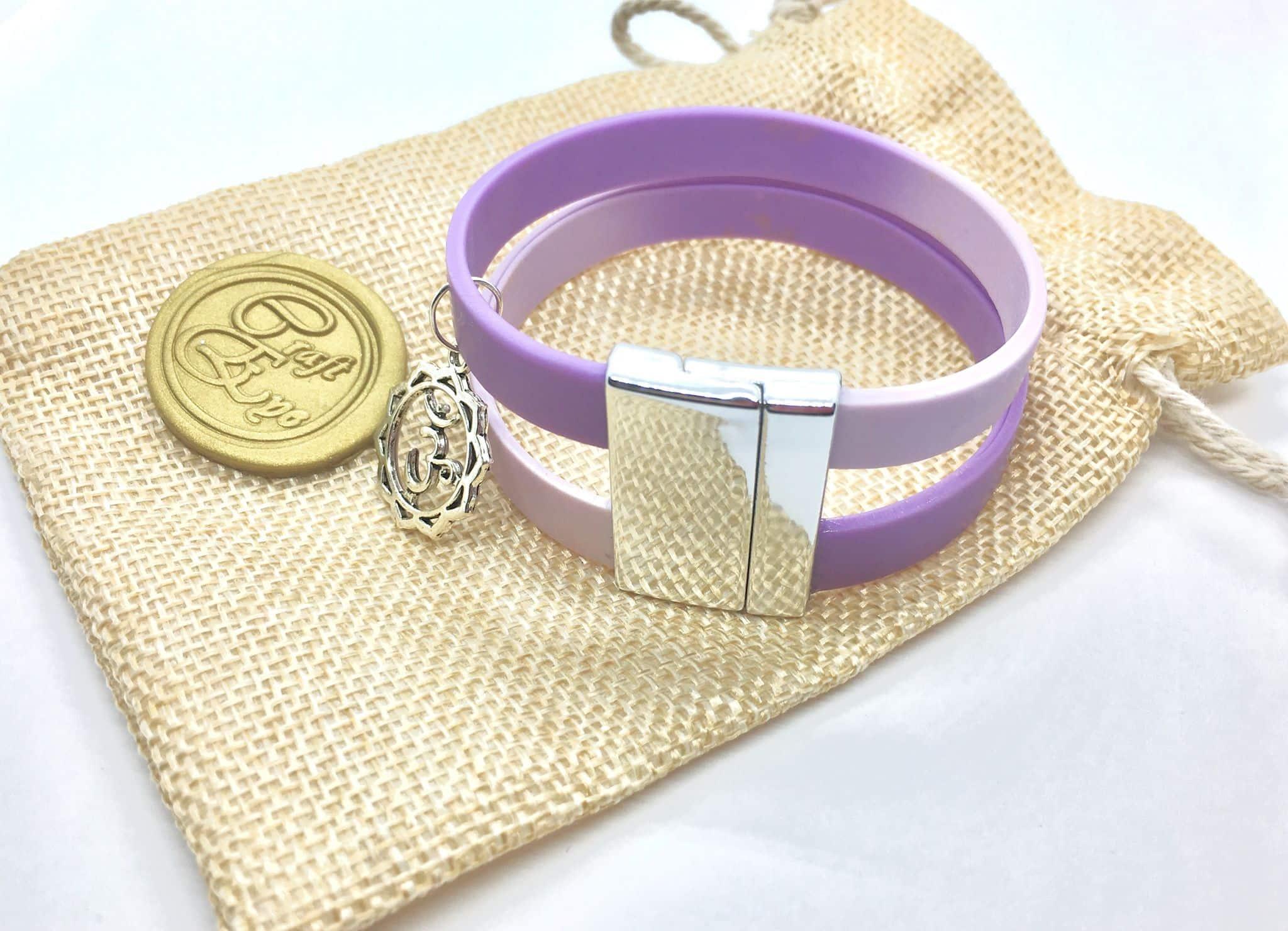 Spiritual Violet Bracelet