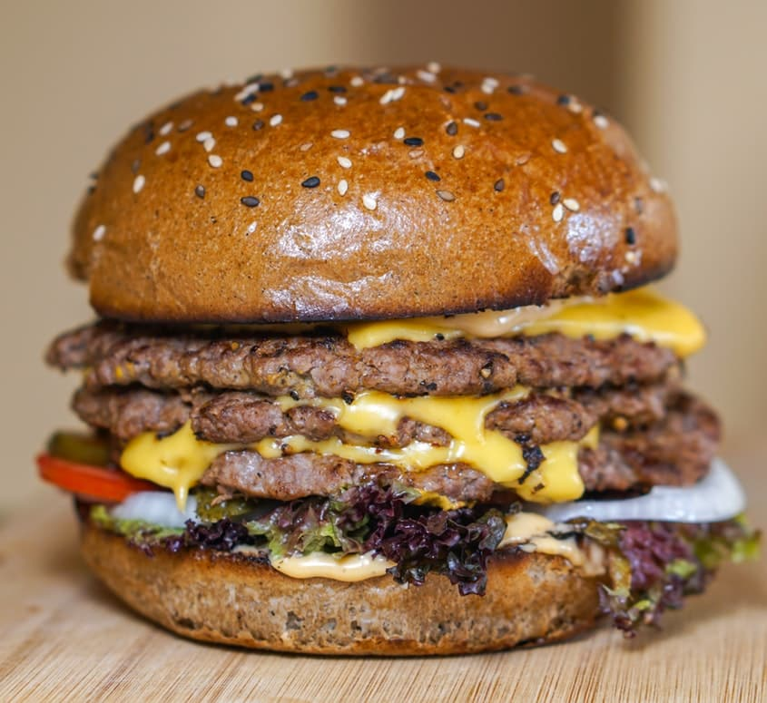Amazing Burger in a low carb diet