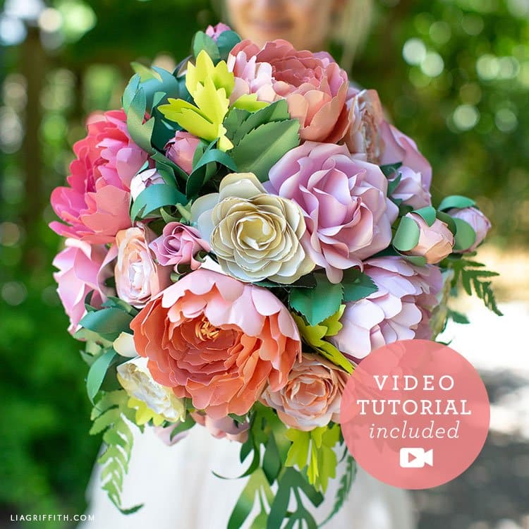 Learn to make a bridal bouquet with Lia Griffith