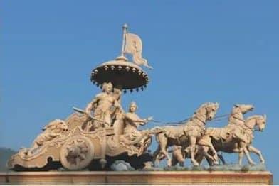 Krsna chariot