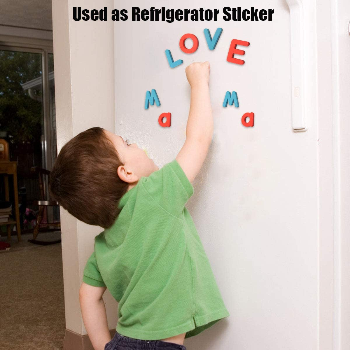 Fridge Magnetic Alphabet Letters and Symbols