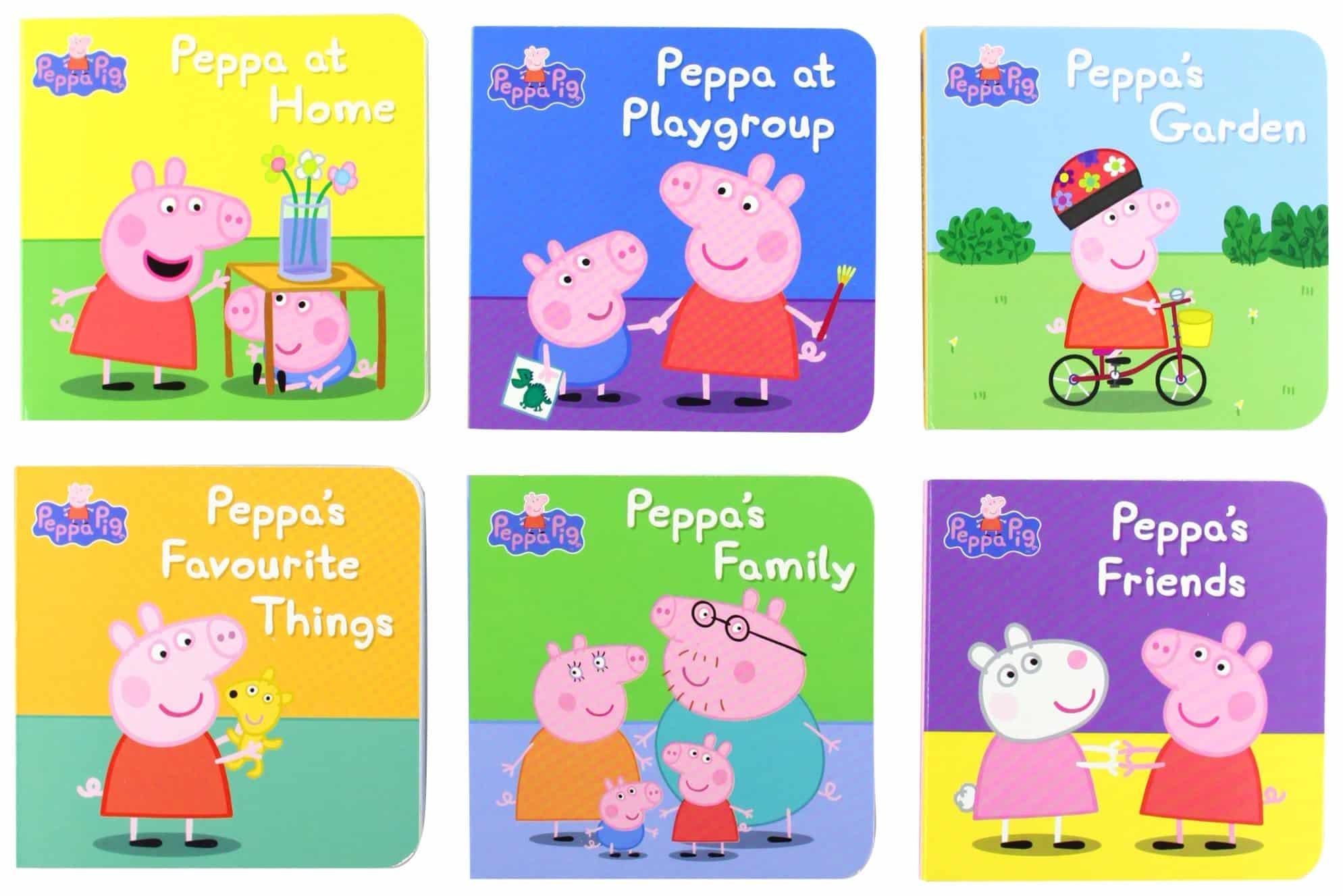 Peppa Pig baby book
