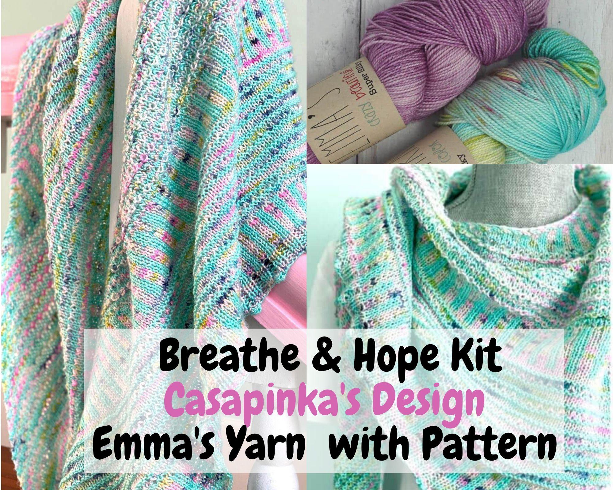 Breath & Hope Shawn Knitting Kit