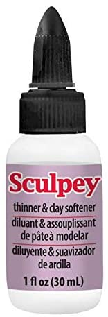 Thinner and polymer clay softener
