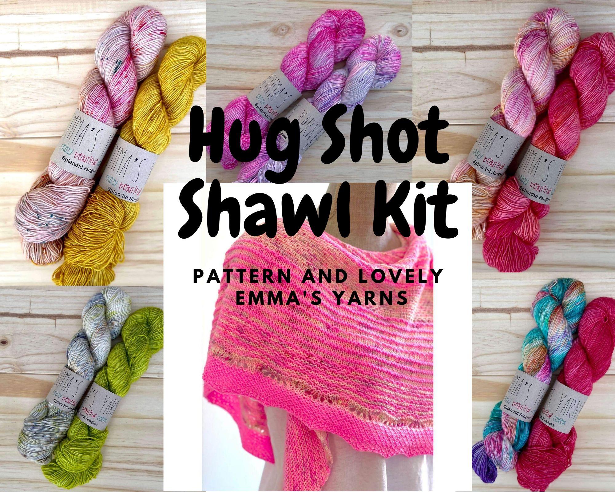 Shaw Knitting Kit
